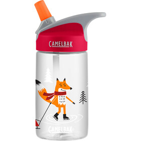 CamelBak Eddy - Gourde Enfant - 400ml rouge/transparent